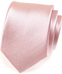 Avantgard Béžová jednobarevná jemně lesklá kravata
