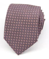 Avantgard Tmavě šedá kravata s drobným zdobením