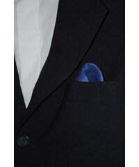 Avantgard Modrý jednobarevný kapesniček