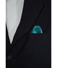 Avantgard Tyrkysový jednobarevný kapesníček