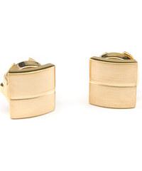 Avantgard Zlaté manžetové návleky na knoflíčky s pruhem