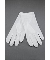 Avantgard Bílé klasické pánské rukavičky