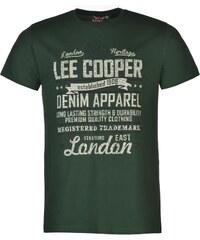 Triko pánské Lee Cooper Mens Vintage Green