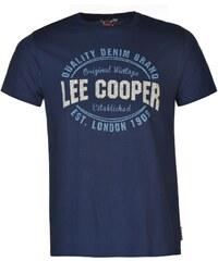 Triko pánské Lee Cooper Mens Vintage Blue