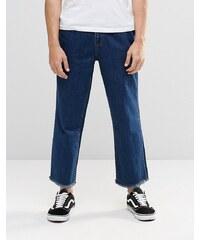 Brooklyn Supply Co - Jeans mit weitem Bein - Blau