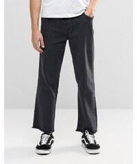 Brooklyn Supply Co - Jeans mit weitem Bein - Schwarz