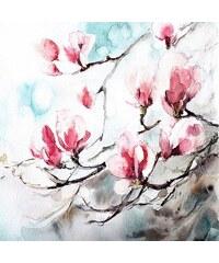 Deco Panel Cannotstop / Magnolia Spring 70/70/2 cm HOME AFFAIRE bunt