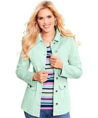 Baur Damen Jeans-Jacke grün 38,40,42,44,46,48,50,52,54,56