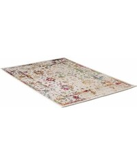 IMPRESSION Teppich Impression Vintage 1611 gewebt weiß 2 (B/L: 80x150 cm),3 (B/L: 120x170 cm),4 (B/L: 160x230 cm),6 (B/L: 200x290 cm)