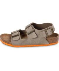 Birkenstock Sandales Sandale Milano Enfant Taupe Enfant