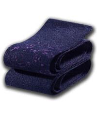 Lascana Overknee-Strümpfe (2er-Pack) in blau für Damen von bonprix