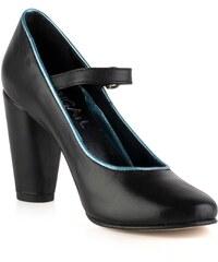 Abigail Mary Jane - Escarpins en cuir - noir