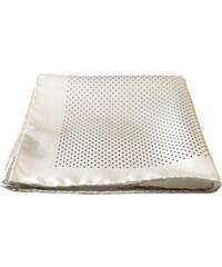 Pochette Square Le Pois de l'Ame - Pochette en soie - blanc
