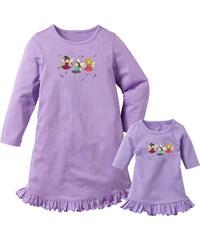 bpc bonprix collection Chemise de nuit + chemise de nuit de poupée (Ens. 2 pces.), T. 92/98-152/158 violet lingerie - bonprix