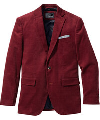 bpc selection Veste de costume en velours côtelé Regular Fit, N. rouge manches longues homme - bonprix