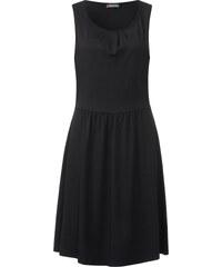 Street One - Robe en jersey unie Selina - Black