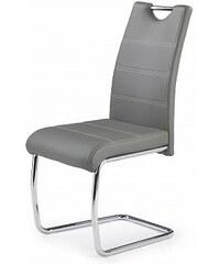 Jídelní židle K211, šedá