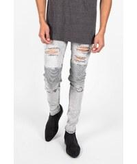 Sixth June Jeans Biker Destroy Grey