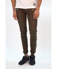 Sixth June Jeans Biker Khaki