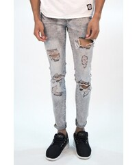 Sixth June Jeans Destroyed Washed Grey