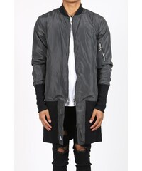 Sixth June Bunda Bomber Jacket Oversized Grey