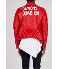 Sixth June Bunda Perfecto Leatherette Red Demons
