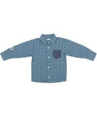 Pinokio Chlapecká kostkovaná košile - modrá