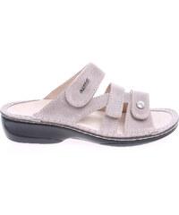 Rejnok Dovoz OrtoMed dámské pantofle 3715-012-P61 béžové
