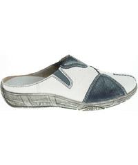 Remonte dámské pantofle D3850-80 bílá-modrá
