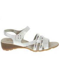 Remonte dámské sandály R5245-90 stříbrné