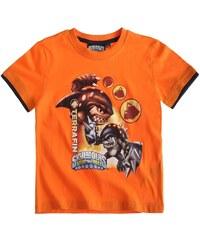 Skylanders T-Shirt orange in Größe 116 für Jungen aus 100% Baumwolle