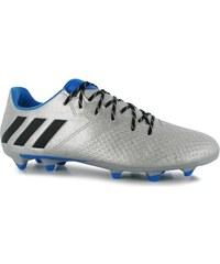 kopačky adidas F50 adiZero TRX FG Lthr Mens Silver/Blk/Blue
