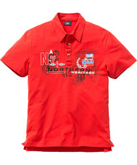 bpc bonprix collection Polo Regular Fit rouge manches courtes homme - bonprix