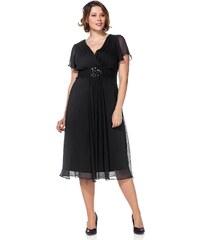 Große Größen: Sheego Style Abendkleid, schwarz, Gr.40-58