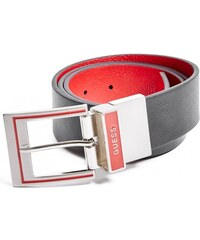 GUESS GUESS Black and Red Reversible Belt - cider