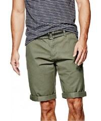 GUESS GUESS Kade Flat-Front Shorts - army