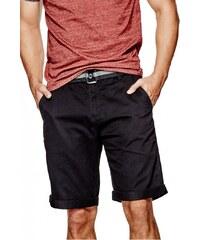 GUESS GUESS Kade Flat-Front Shorts - jet black