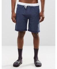 ASOS Loungewear - Short en jersey molletonné - Bleu marine