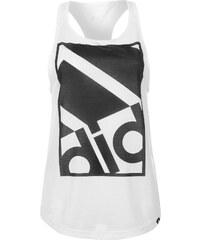 Sportovní tílko adidas Large Logo dám. bílá/černá