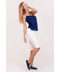 SAM 73 Dámské capri kalhoty SHWS16_07 white - bílá