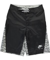 Nike All Over Print Board Shorts dětské Boys Black/Grey