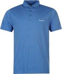 Polokošile pánská Pierre Cardin All Over Pattern Blue