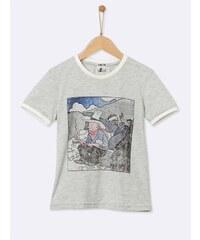 Cyrillus T-shirt - gris chine