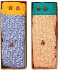 Dagobear Lot de 2 caleçons - multicolore