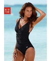 Große Größen: Badeanzug, LASCANA, schwarz, Gr.38 (75)-48 (100)
