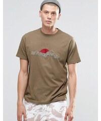 Maharishi - Maha Hills - Besticktes T-Shirt - Grün