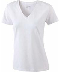 7910a85535cf James   Nicholson Dámské Stretch tričko V-výstřih
