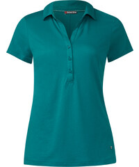 Street One - Polo manches courtes Ebony - paradise green