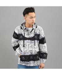 Stussy Batik Woven Poncho bílá / černá / navy