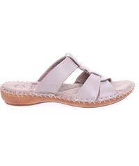 Jana dámské pantofle 8-27107-26 béžové